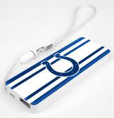 Mizco NFL Indianapolis Colts 3K Slim Power Bank Powerbar