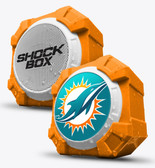Mizco NFL Miami Dolphins Shockbox Bluetooth Speaker