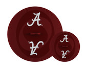 Alabama Crimson Tide Topperz Silicone Tailgating Lids