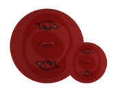 Arkansas Razorbacks Topperz Silicone Tailgating Lids