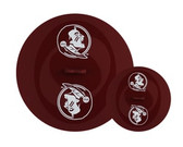 Florida State Seminoles Topperz Silicone Tailgating Lids