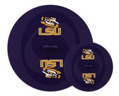 LSU Tigers Topperz Silicone Tailgating Lids