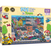 101 Things to Spot - In Town 101pc Puzzle