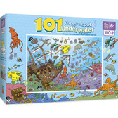 101 Things to Spot - Underwater 101pc Puzzle