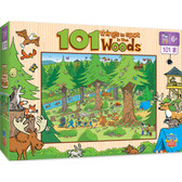 101 Things to Spot - In the Woods 101pc Puzzle