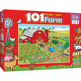 101 Things to Spot - On the Farm 101pc Puzzle