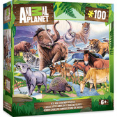 Animal Planet - Ice Age Friends 100pc Puzzle