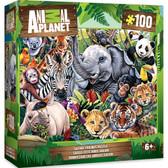 Animal Planet - Safari Friends 100pc Puzzle