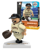 San Francisco Giants Home Uniform #9 Brandon Belt