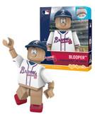 Atlanta Braves Blooper Mascot Alternate Uniform Version