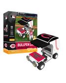Cincinnati Reds Baseball Bullpen Cart 89pc Building Block Set