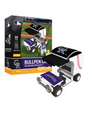 Colorado Rockies Baseball Bullpen Cart 89pc Building Block Set