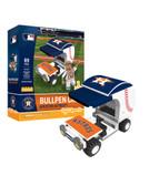 Houston Astros Baseball Bullpen Cart 89pc Building Block Set