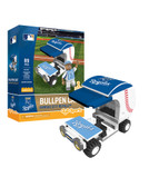 Kansas City Royals Baseball Bullpen Cart 89pc Building Block Set