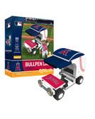 Los Angeles Angels Baseball Bullpen Cart 89pc Building Block Set