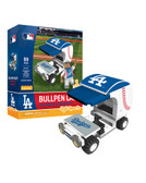 Los Angeles Dodgers Baseball Bullpen Cart 89pc Building Block Set