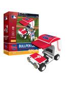 Philadelphia Phillies Baseball Bullpen Cart 89pc Building Block Set