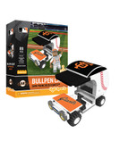 San Francisco Giants Baseball Bullpen Cart 89pc Building Block Set