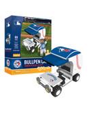 Toronto Blue Jays Baseball Bullpen Cart 89pc Building Block Set