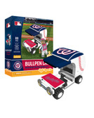 Washington Nationals Baseball Bullpen Cart 89pc Building Block Set