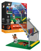 Baltimore Orioles Batting Cage Set 59pc Building Block Set
