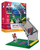 Philadelphia Phillies Batting Cage Set 59pc Building Block Set
