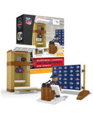 New England Patriots Super Bowl 53 Champions Locker Room Set 115-piece Building Set