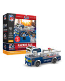 New England Patriots 6X Super Bowl Champs Parade Bus 191 piece Play Set