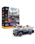 Colorado Rockies Parade Bus 191 piece Play Set
