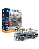 San Diego Padres Parade Bus 191 piece Play Set