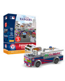 Texas Rangers Parade Bus 191 piece Play Set
