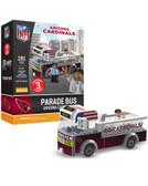 Arizona Cardinals Parade Bus 191 piece Play Set