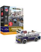 Baltimore Ravens Parade Bus 191 piece Play Set