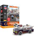 Chicago Bears Parade Bus 191 piece Play Set