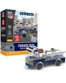 Dallas Cowboys Parade Bus 191 piece Play Set