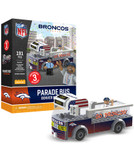 Denver Broncos Parade Bus 191 piece Play Set