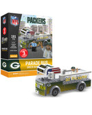 Green Bay Packers Parade Bus 191 piece Play Set