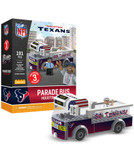 Houston Texans Parade Bus 191 piece Play Set