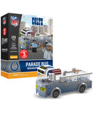Indianapolis Colts Parade Bus 191 piece Play Set
