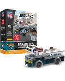 Jacksonville Jaguars Parade Bus 191 piece Play Set