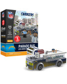Los Angeles Chargers Parade Bus 191pc Play Set
