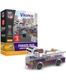 Minnesota Vikings Parade Bus 191 piece Play Set