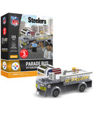 Pittsburgh Steelers Parade Bus 191 piece Play Set