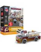 Washington Redskins Parade Bus 191 piece Play Set