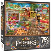 Farmer's Market - Sale on the Square 750pc Puzzle