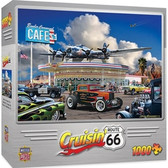 Cruisin' Rt66 - Bomber Command Café 1000pc Puzzle