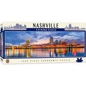 American Vistas - Nashville 1000pc Panoramic Puzzle