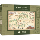 Xplorer Maps - Badlands 1000pc Puzzle