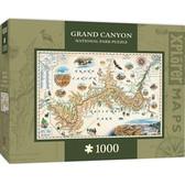 Xplorer Maps - Grand Canyon 1000pc Puzzle