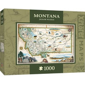 Xplorer Maps - Montana 1000pc Puzzle